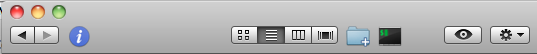 Open in iTerm toolbar icon
